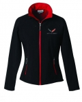 E17200 JACKET-LADIES-STINGRAY-MATRIX SOFT SHELL-BLACK