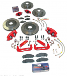 E17445 BRAKE KIT-UPGRADE-BOLT ON-C5 CONVERSION-85-87