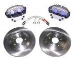 E17446 BRAKE KIT-UPGRADE-BOLT ON-C5 CONVERSION-FRONT ONLY-85-87