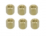 NUT SET - EXHAUST MANIFOLD - TO EXHAUST PIPE - STUD NUTS - 55 - 80