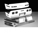 E18032 BODY KIT-WIDE MOLDING PACKAGE-FIBERGLASS-HAND LAYUP-ZR1 STYLE REAR LIGHTS-84-90