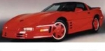E18089 BODY KIT-WIDE-FIBERGLASS-HAND LAYUP-STALKER-ROUND LIGHTS-85-90