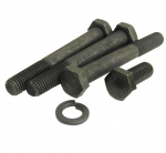 E18219 BOLT KIT-REAR LEAF SPRING-ANCHOR-STOCK LENGTH-WITH WASHERS-6 PIECES-80-82