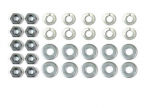 E18416 NUT AND WASHER SET-GRILLE-MOUNTING BRACKET-30 PIECES-53-57