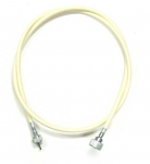 E18616 CABLE ASSEMBLY-SPEEDOMETER-56 LENGTH-WITH IVORY JACKET-64 - DISCONTINUED SEE ITEM E18615