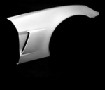 E18768 FENDER-FRONT-FIBERGLASS-HAND LAYUP-Z06 STYLE-COUPE OR CONVERTIBLE-RIGHT-05-13