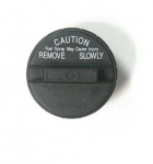 E19093 CAP-GAS-BLACK PLASTIC-REPLACEMENT STYLE-75-77