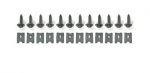 E19161 ATTACHING KIT-FRONT GRILLE-24 PIECES-68-69