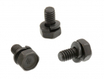 E19559 BOLT SET-TRUNK LID LOCK-WITH WASHERS-3 PIECES-61-62