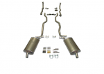E20014 EXHAUST SYSTEM-ALUMINIZED-2 INCH-SMALL BLOCK-MANUAL-63