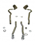 E20282 EXHAUST SYSTEM-MAGNAFLOW-2 TO 2.5 INCH-SMALL BLOCK-327/350-AUTOMATIC-68-72