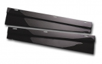 E20569 SILL COVERS-DOOR-CARBON FIBER-RK SPORT-PAIR-97-04