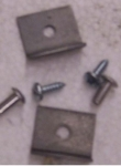 E20964 NUT PLATE-RIVET-SCREW-FOR POWER WINDOW CUP-63-67