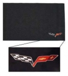 E21188 COVER-FENDER-C6 LOGO-BLACK-53-16