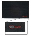 E21189 COVER-FENDER-C6 ZO6 LOGO-BLACK-53-16