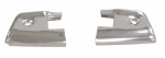 E21745 CAP-DOOR END-POLISHED STAINLESS STEEL-PAIR-59-60