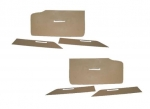 E22076 CARDBOARD-DOOR PANEL-6 PIECES-56-57