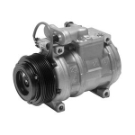 E22644 AIR CONDITIONING COMPRESSOR-WITH CLUTCH-NEW-R12-92-93