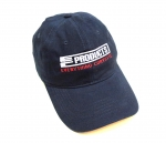 E23036 HAT-EC PRODUCTS-BLACK-WHITE-RED-UNISEX-ADJUSTABLE BUCKLE