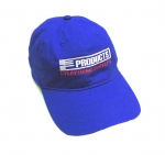E23037 HAT-EC PRODUCTS-BLUE-WHITE-RED-UNISEX-ADJUSTABLE BUCKLE