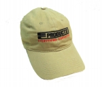 E23039 HAT-EC PRODUCTS-KHAKI-BLACK-RED-UNISEX-ADJUSTABLE BUCKLE