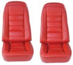 E6973 COVER-SEAT-LEATHER-VINYL-4 PIECES-76-78