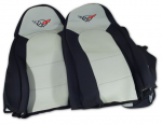 E7159 COVER-SEAT-NEOPRENE-BLACK/GRAY-97-04