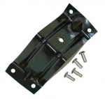 E7436 BRACKET-LOWER DOOR GLASS-STOP-WITH RIVETS-LEFT-56-62