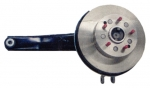 E7680L ARM-REAR TRAILING-COMPLETE WITH ROTOR-WITH 5/16 INCH FLANGE-MANUAL-LEFT-80-82