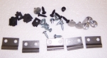 E8106 MOUNTING KIT-GRILLE MOLDING-27 PIECES-63-64