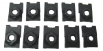 E8152 U-NUT SET-GRILLE MOUNTING-REPLACEMENT-10 PIECES-63-64