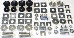 E9014 BODY MOUNT-COMPLETE KIT-CONVERTIBLE-65-67