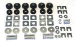 E9015 BODY MOUNT-COMPLETE KIT-COUPE-65-67
