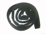 E9767 WEATHERSTRIP-CONVERTIBLE-SOFT TOP-REAR BOW-BLACK MOHAIR-53-58