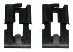 E7585 CLIPS-DOOR PULL ROD AND LOCK ROD RETAINER-PAIR-56-82