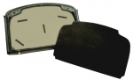 E14639 HEADLINER-COUPE ROOF PANEL-MOUNTED-BLACK-86-96
