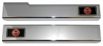 E1082 SILL COVER-ALTEC-CHROME-WITH LOGO-USA-84-87