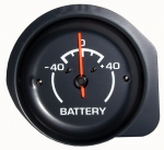 E10946 GAUGE-BATTERY-AMMETER-WITH WHITE FACE-75-76