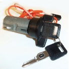 E13002 CYLINDER-IGNITION LOCK-WITH VATS KEYS-SPECIFY CODE-86-97