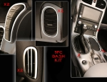 E21321 Dash Trim Kit-Interior-Polished or Brushed-Stainless Steel-9 Pieces-05-13