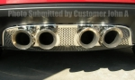 E21549 Panel-Exhaust-Corsa 3.5 Exhaust-Perforated-Stainless Steel-05-13