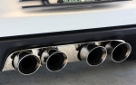 E21554 Panel-Exhaust-Corsa 4.0 Quad Tip Exhaust-Polished-Stainless Steel-05-13