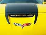 E21591 Vent Grille-Hood-Perforated-Stainless Steel-Z06, ZR1, or Grandsport-06-13