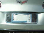 E21612 Tag Back-License Plate-Laser Mesh-Polished-05-13
