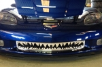 E21654 Grille-Front-Shark Tooth-Z06-Polished-06-13