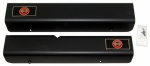 E2255 SILL COVER-ALTEC-BLACK ANODIZED-PAIR-91-96