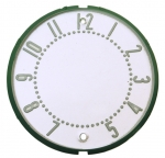 CLOCK FACE - WITH NUMBERS - 58 - 62