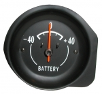 E6284 GAUGE-BATTERY-AMMETER-WITH WHITE FACE-72-74