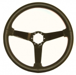 E8035 WHEEL-STEERING-LEATHER-WITH BLACK PAINTED SPOKES-80-82