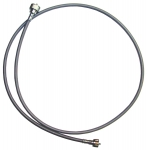 E8044 CABLE ASSEMBLY-SPEEDOMETER-TACHOMETER-GRAY CASE-61 LENGTH-60-62